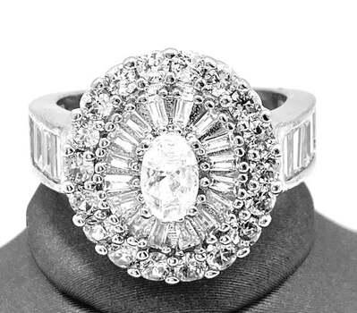 1.48ctw AAA Grade CZ's Ring