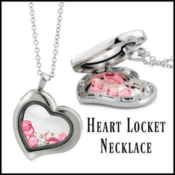 14k White Gold Overlay Pink & White Topaz Necklace