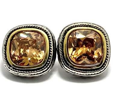 1.50ctw Citrine Earrings