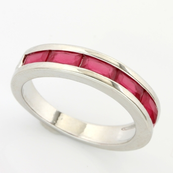 1.55ctw Ruby Ring size 7