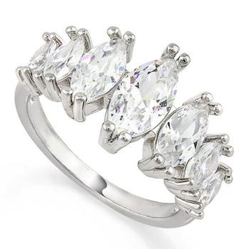 1.55ctw White Topaz Ring Size 7