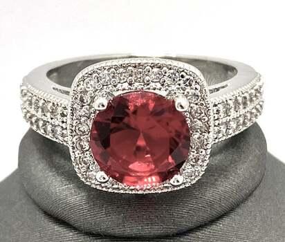 1.5ctw Ruby Ring