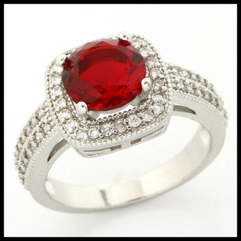 1.5ctw Ruby Ring Size 7
