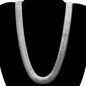 """18"""" Long & 1/2"""" Width Chain Necklace"""