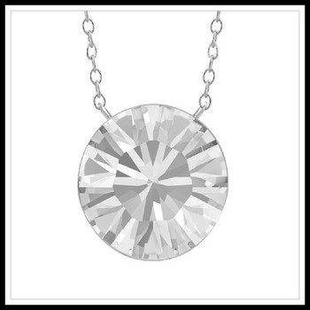 1.85ctw White Sapphire Necklace