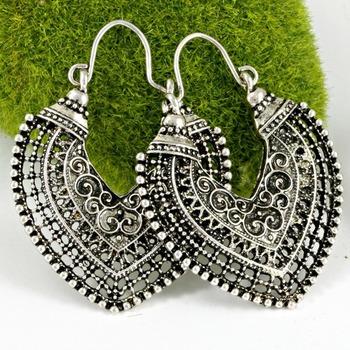 18k Gold High Polish Layered Lead Free High End Jewelry Brass Earrings
