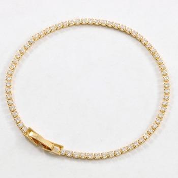 2.00ctw White Sapphire Tennis Bracelet