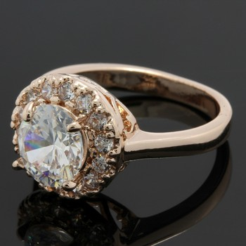 2.13ctw White Sapphire Ring Size 7.5