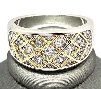 2.15ctw White Sapphire Ring