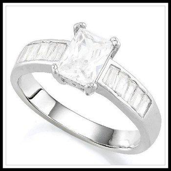 2.65ctw AAA Grade Cubic Zirconia Ring Size 7