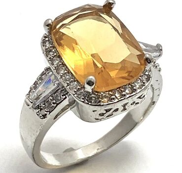 4.75ctw Citrine Ring Size 6