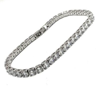 """5.00ct Tennis Bracelet, Diamonique 6.5"""" Long"""
