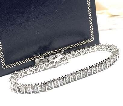5.00ct White Diamonique Bracelet