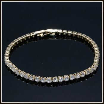 5.25ctw White Sapphire Tennis Bracelet