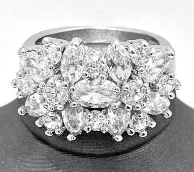 6.00ct White Sapphire Ring