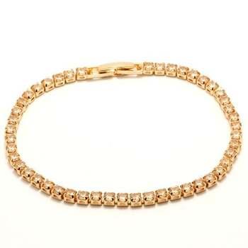 6.11ctw Champagne Topaz Bracelets