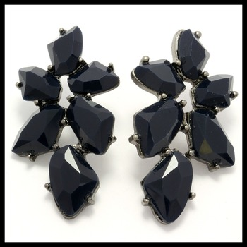 Fine Jewelry Brass with 5.00ctw Blue Sapphire Earrings