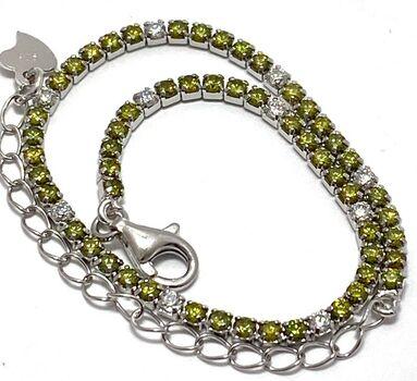 .925 Heart Tennis Bracelet - .925 Sterling Silver, 2.00ctw Cubic Zirconia