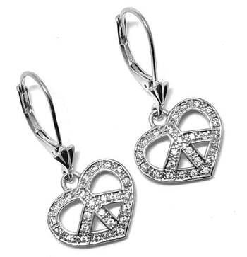 .925 Sterling Silver, 0.50ct Diamonique Diamond Drop Earrings