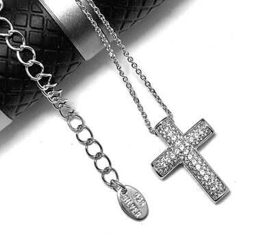 .925 Sterling Silver, 0.50ct Diamonique Diamond Necklace