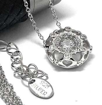.925 Sterling Silver 0.75ct Diamonique Necklace