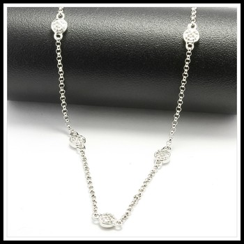 .925 Sterling Silver By The Yard Chain