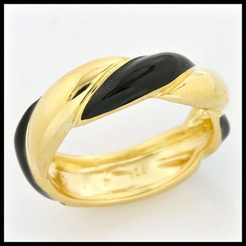 .925 Sterling Silver, Genuine Onyx Ring size 7