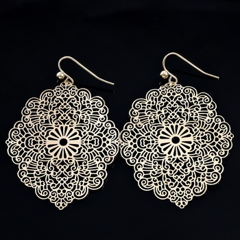 Boho Chic Filigree Earrings