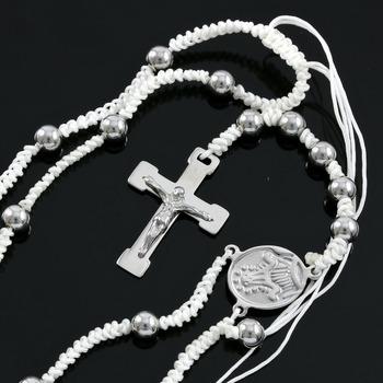 Designer Bead Cross Necklace