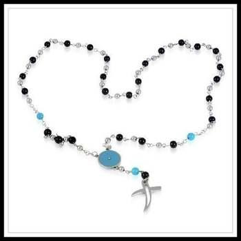Designer Stainless Steel Cross Necklace