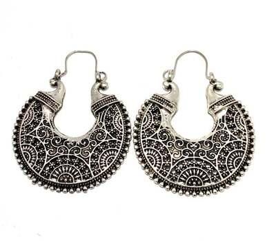 Designer Two-Tone, 12.4 Grams Earrings