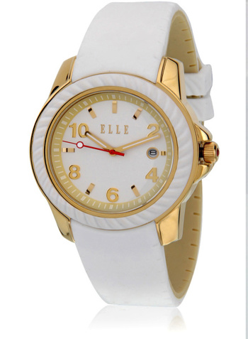 Elle Rope White Analog Watch