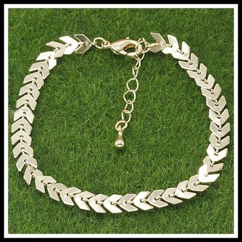 Fine Jewelry Brass with 3x Gold Overlay Tennis Bracelet