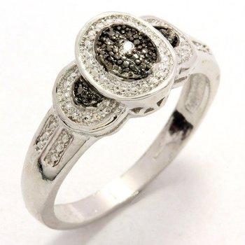 Genuine Diamond Accent Ring Size 7