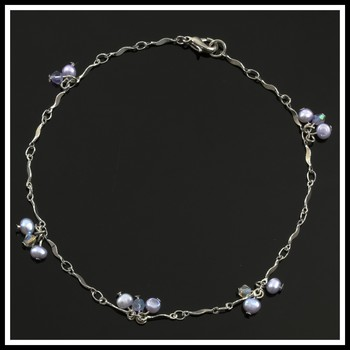 Genuine Fresh Water Pearl Ankle Bracelet