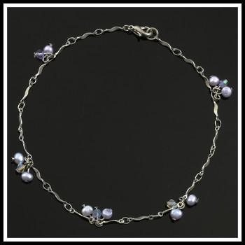 Genuine Fresh Water Pearl Ankle Bracelet