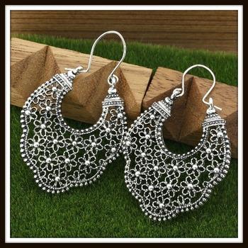 Gold High Polish Layered Lead Free High End Jewelry Earrings