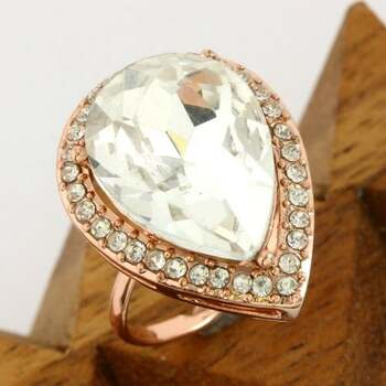 NO RESERVE 3.50ctw White Sapphire Adjustable Ring