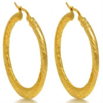 NO RESERVE 35mm Hoop Earrings