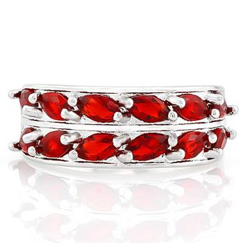 NO RESERVE 3.75ctw Garnet Ring Size 6