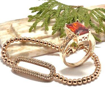 NO RESERVE Lot of 4.80ctw Garnet & White Sapphire Ring size 9 & 1.10ctw White Sapphire Bracelet