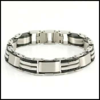 """Stainless Steel Bracelet 7.5"""" Long"""