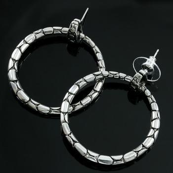 Two-Tone, 37mm Earrings