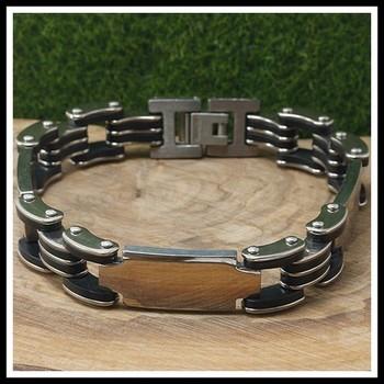 Two-Tone Men's Bracelet