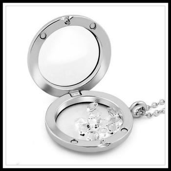 White Sapphire Necklace