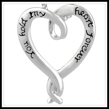 """""""You hold my heart forever"""" Necklace"""