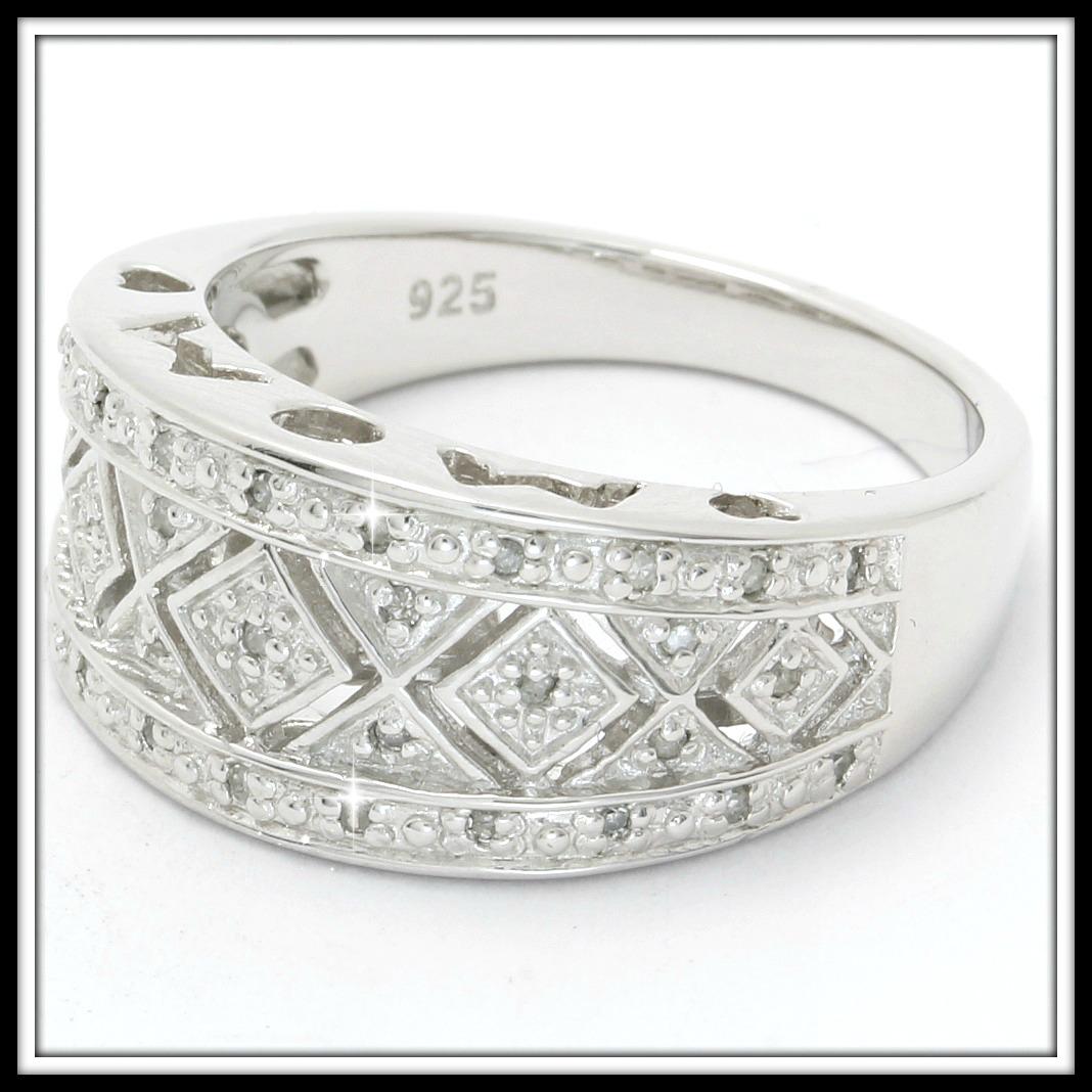 35 genuine diamonds solid 925 sterling silver. Black Bedroom Furniture Sets. Home Design Ideas