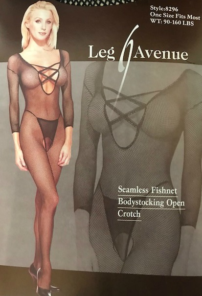 927d755ba Image 1 of 2. Seamless Fishnet Bodystocking Open Crotch