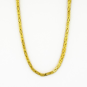 14K Yellow Gold 47.50 Grams Link Chain Style Necklace