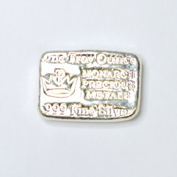 999 Fine Silver One Troy Once Bar